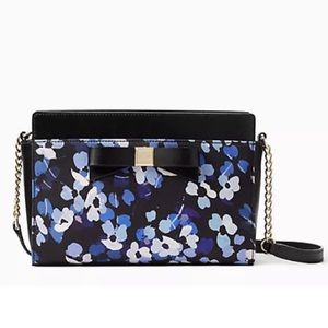 Authentic Kate Spade Floral Crossbody . NWT